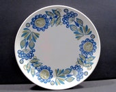 Bread and Butter Plate Tor Viking Mid Century Modern Figgio Flint, Norway designed by Turi Gramstad-Oliver, Vintage Dinnerware
