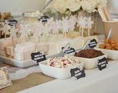 SNOWFLAKE CUPCAKE TOPPER - Winter wedding, frozen party, winter party