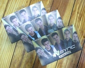 Nsync N'SYNC - No Strings Attached - Photo cards Trading Scrapbooking 00s Nostalgia Dead Stock!