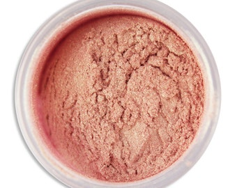 Pink Champagne Luster Dust - dust for adding high luster sheen to gum paste, fondant, cakes, cupcakes, cookies, and cakepops