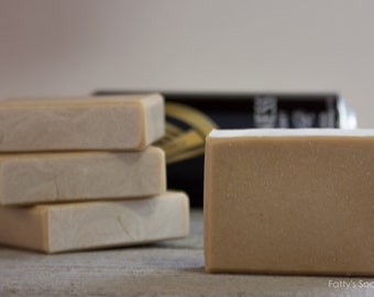 Simple Natural Guinness | Beer Soap | Made with Guinness Stout Beer | Unscented | Gifts for Men | Fatty's Soap Co.