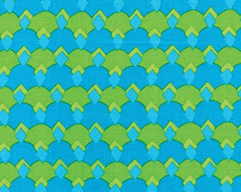 Diamond Cactus Turquoise Benartex Fabric 1 yard