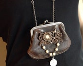 Restyled Coin Purse Necklace