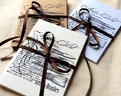6 Artist's Brushes Cards, Card Set, Notecard Set