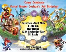 Skylanders invitation-PRINTABLE
