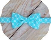 Aquamarine Arrows Bow Tie >> Father Son Mens Boys Baby Graduation Wedding Spring Birthday Aqua Blue Teal Prom Self Tie Freestyle Pre-tied