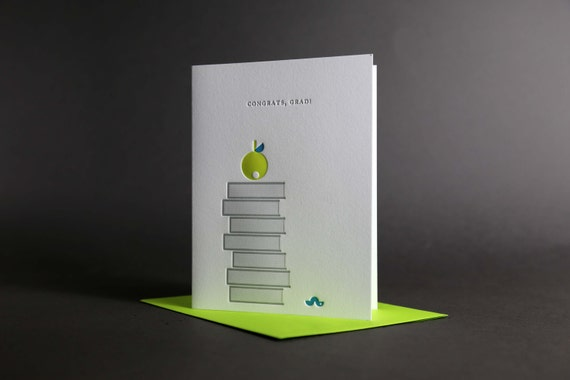 Apple Books Worm Graduation