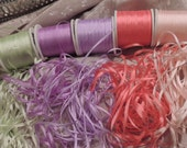 "2mm silk ribbon combo pack 25 yards ""Begonia"""