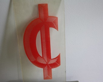 Plexiglass Cent Sign