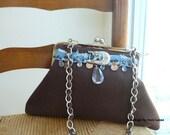 boho clutch, western bag, western wear, clutch purse, western purse, rustic wedding bag, western wedding, country wedding, shoulder bag