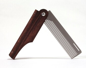 pocket beard comb