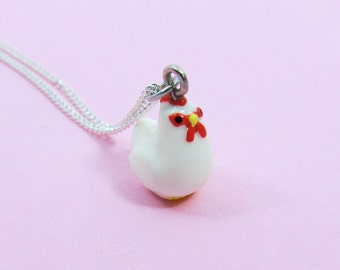 Cute Rooster Necklace  (R3C)