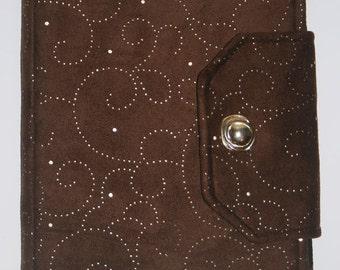 Handmade, Fabric iPad bag, iPad cover, iPad Air Case, Case for iPad, iPad case, Custom iPad, Brown / Gold