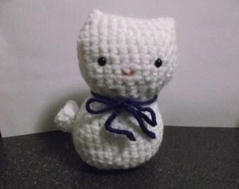 Amigurumi kitty  crocheted cat kitty any color