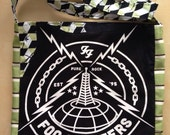Foo fighters tshirt bag green