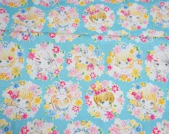 Pretty Kawaii Little Girl Print Half meter nc43