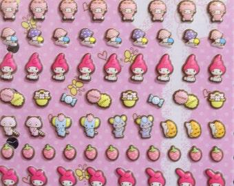 kawaii Sanrio Stickers tiny my melody
