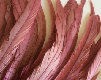 RUSTICA COQUE FEATHERS  / Vintage French Rose Pink   / 1314