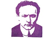 Harry Houdini - Hand Carved Rubber Stamp