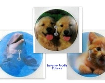 Clearance BUTTONS EXTRA LARGE Photo Button Your Choice