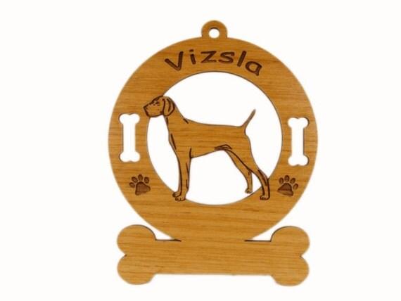 4192 Vizsla Standing Personalized Dog Ornament