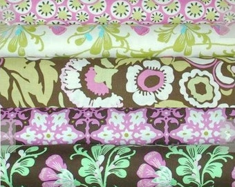 Amy Butler - Daisy Chain Rosa - Fat Quarter set of 5