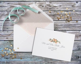 Calligraphy, digital calligraphy, Guest Addressed Envelope, Digital Envelope Addressing, Guest Addressing for Wedding Invitations