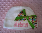 Ariana Personalized Knit Baby Cap