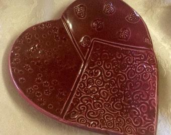 Maroon Heart