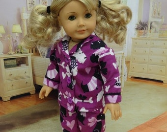 Pajamas for American Girl - Pampered Puppy