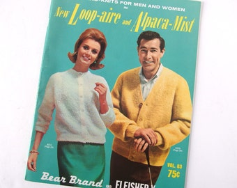 Loop Aire and Alpaca Mist Hand Knitting Pattern Booklet