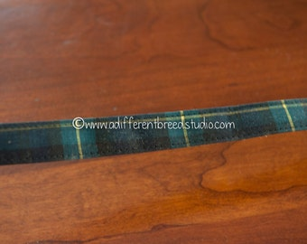3 yards Plaid Belting- Vintage Trim 70s 80s New Old Stock Fun Belt