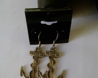 Anchor Earrings