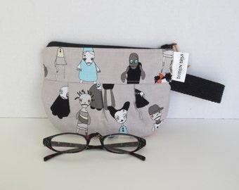 Zombies Pouch - Zombies zip pouch - Zombies zip bag - Zipper Pouch