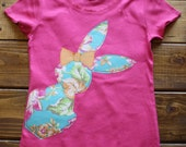 Easter Shirt for Girls, Made To Order, Bunny Shirt, Easter Basket Gift, Girl Easter Shirt, Baby Girl Clothes, Spring Celebration Shirt