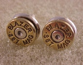 Bullet Earrings 357 Magnum - Free Shipping to USA