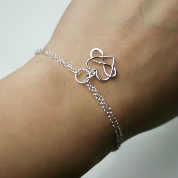 bracelet coeur infini en argent sterling bracelet damiti. Black Bedroom Furniture Sets. Home Design Ideas