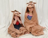 Personalized Horse hooded towel