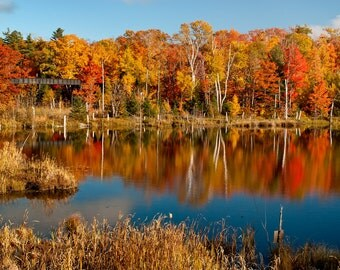 Reflection on 41 - Marquette - Michigan Photography