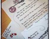 Custom hand-written letter from Tooth Fairy, Santa, etc.