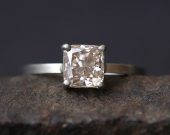 One of a Kind Natural Pink Diamond Ring