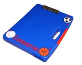 Personalized Clipboard Case - Sports