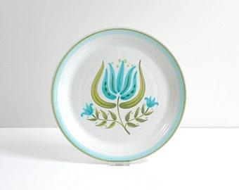 Vintage Franciscan Earthenware Tulip Time Dinner Plate