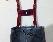 Kurt - Vintage 1960s suede leather lederhosen
