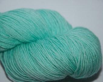 Studio June Yarn Sock Luck - Superwash Merino Wool, Nylon - Minty Green