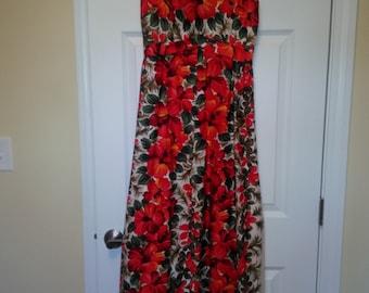 Harriet's Vintage Hawaiian Maxi Dress