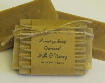 Oatmeal Milk & Honey Cold Process Soap