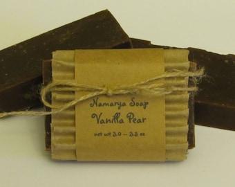 Vanilla Pear Cold Process Soap