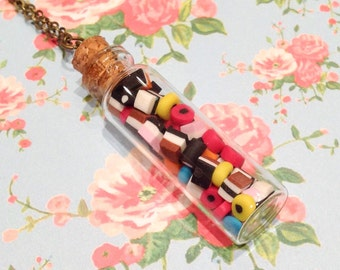 Sweet Treats Licorice Allsorts Necklace