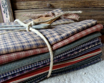 Deluxe Vintage New/ Old Stock Fabric Yardage Lot for the Farm Girl